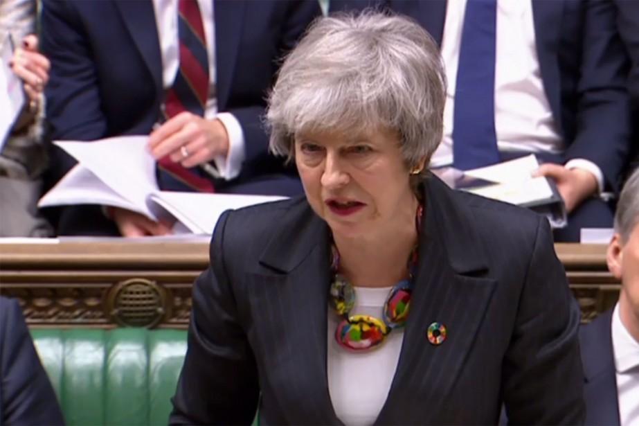 Theresa May... (Photo HO, AFP)