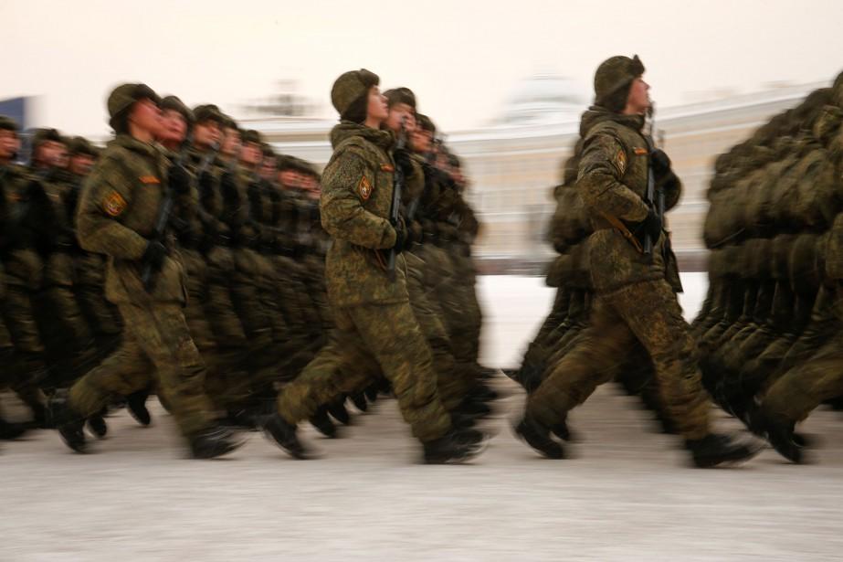 L'armée russe a régulièrement été victime ces dernières... (Photo ANTON VAGANOV, REUTERS)