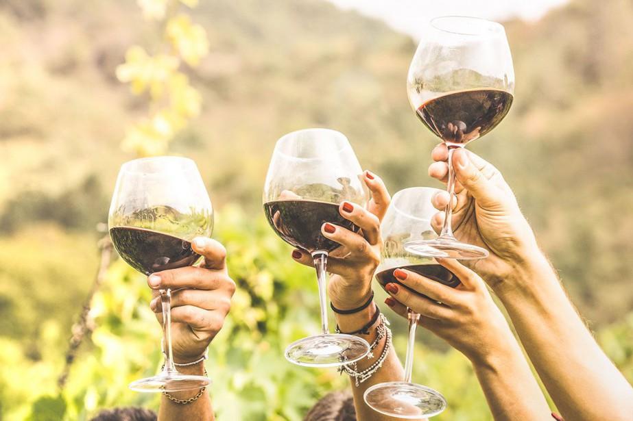 En moins de vingt ans, la consommation de vin en France,... (Photo Getty Images)