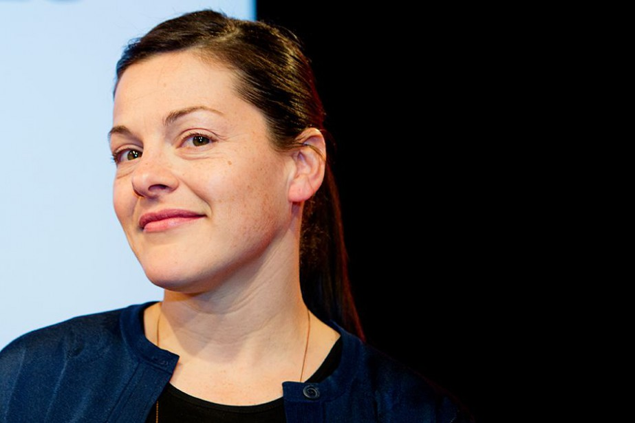 Sophie Cadieux... (Photo Alain Roberge, La Presse)