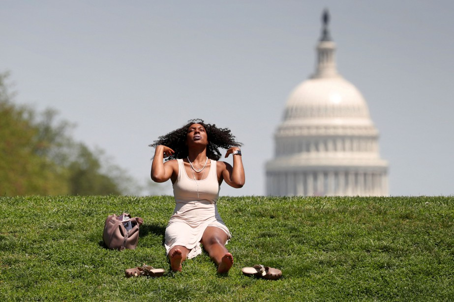 La capitale fédérale américaine habituée avec son climat... (Photo KEVIN LAMARQUE, archives Reuters)