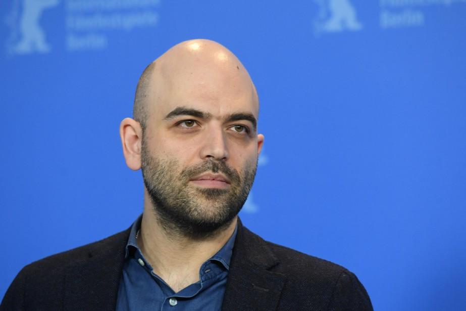 L'écrivain italien et scénariste Roberto Saviano lors de... (Photo ANNEGRET HILSE, REUTERS)