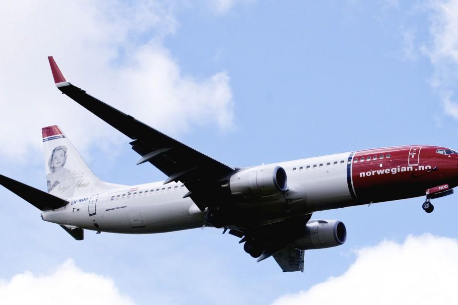 La compagnie aérienne à bas coût Norwegian Air... (Photo archives REUTERS)