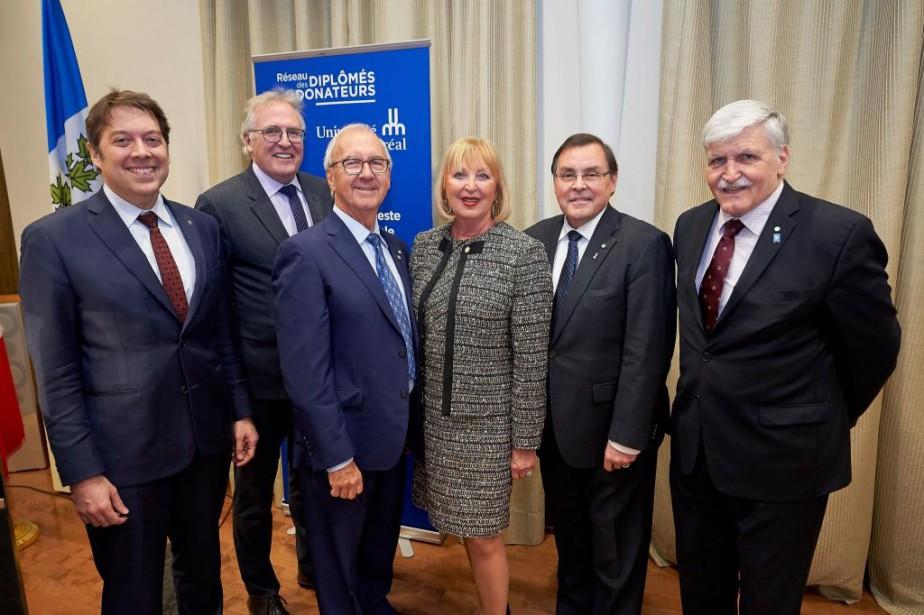 Le lancement de la ChaireJean-Monbourquette a eu lieu... (Photo André Pichette, La Presse)