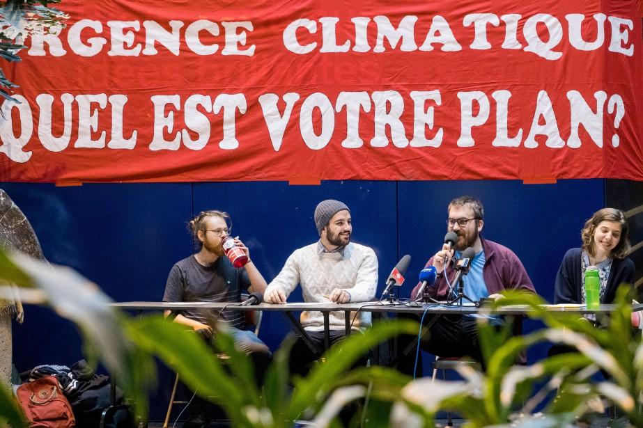 Le mouvement «La Planète s'invite à l'université» a... (Photo Marco Campanozzi, archives la presse)