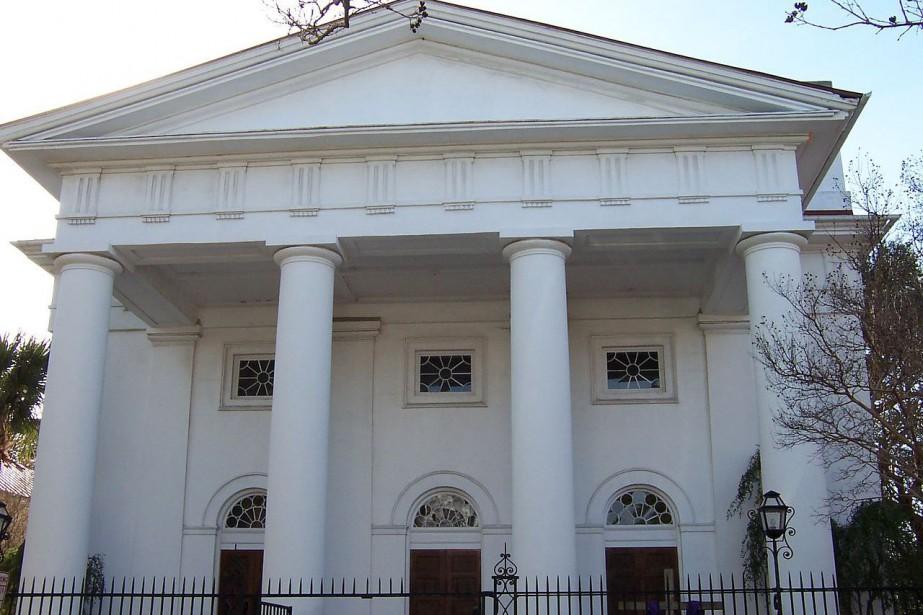 La First Baptist Church de Charleston, en Caroline...
