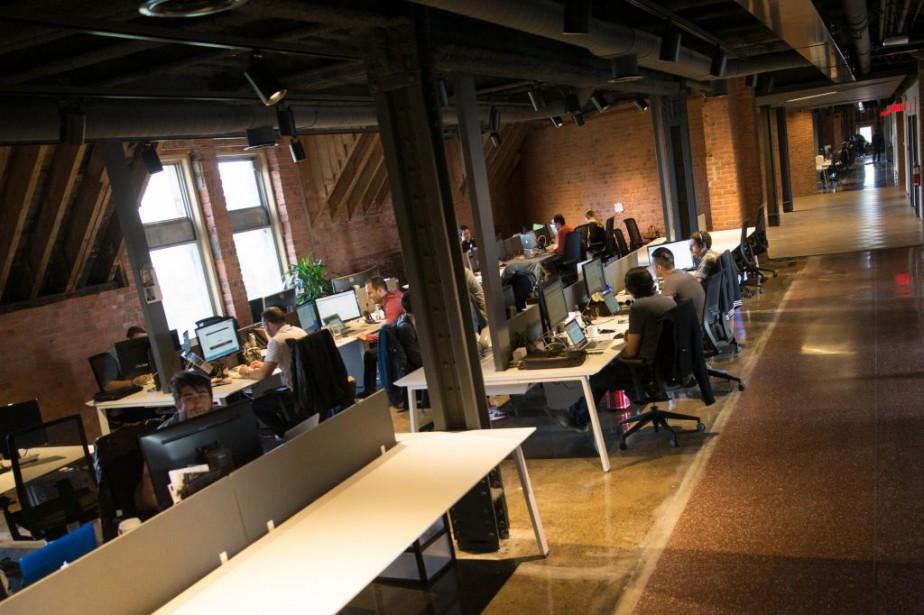 L'entreprise montréalaise de commerce électronique Lightspeed - dont... (Photo Ivanoh Demers, archives La Presse)