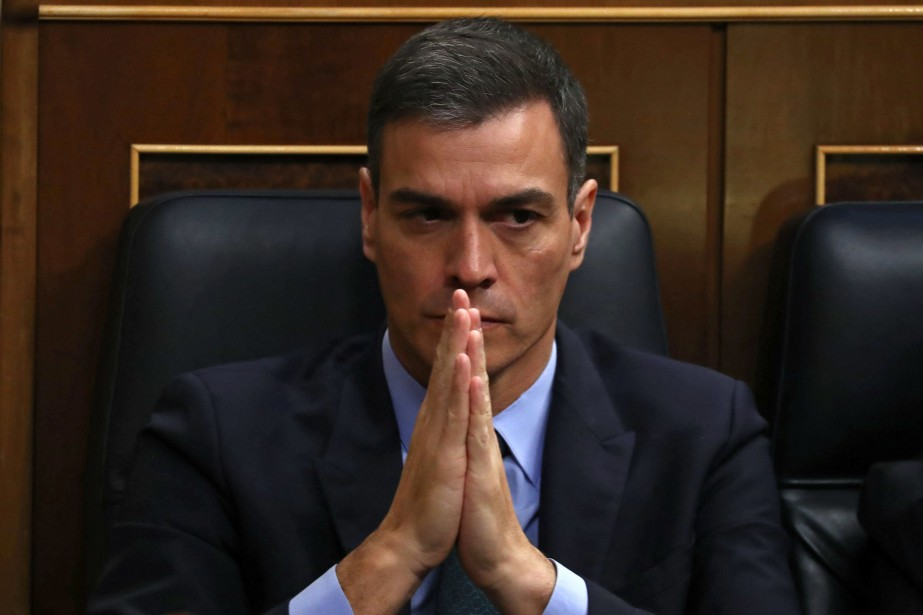 Pedro Sanchez... (Photo SERGIO PEREZ, REUTERS)