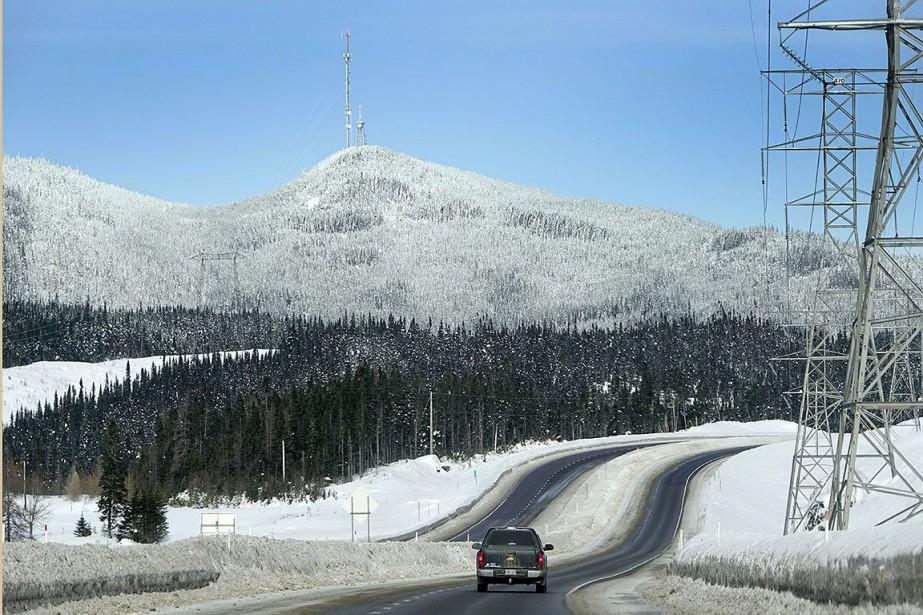 La route 175 relie Québec à Saguenay.... (Bernard Brault, archives La Presse)