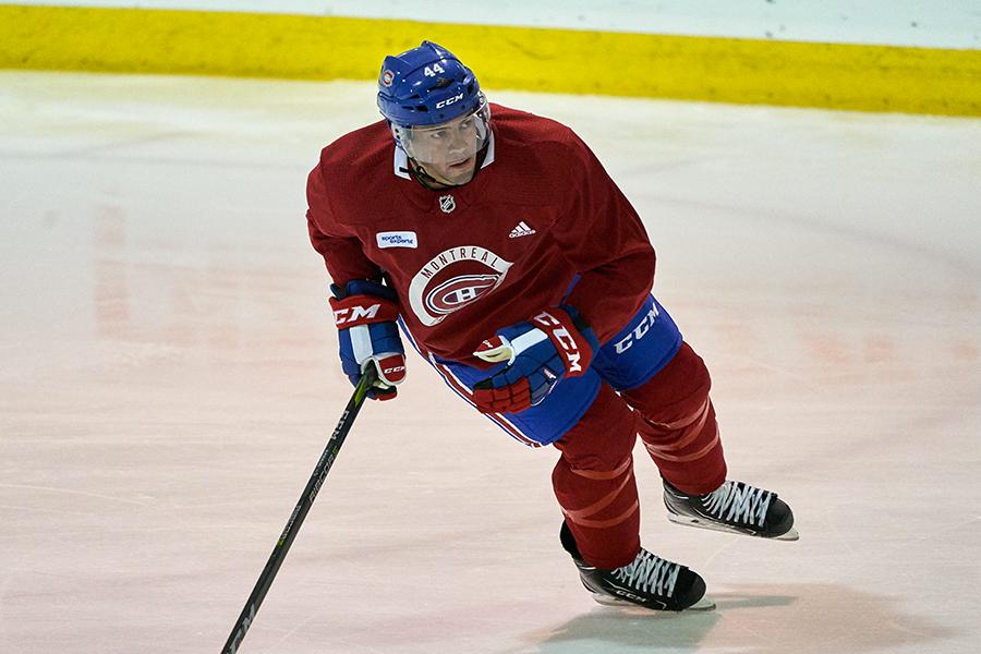 Ryan Poehling au camp de perfectionnement du Canadien... (Photo André Pichette, archives La Presse)