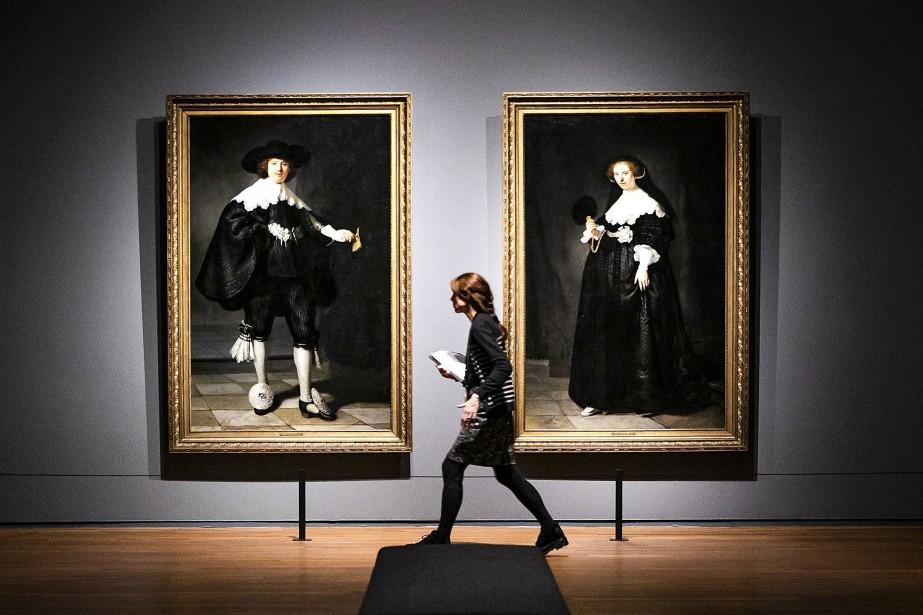 Le Rijksmuseum d'Amsterdam a dévoilé mercredi sa toute... (Photo REMKO DE WAAL, AFP)