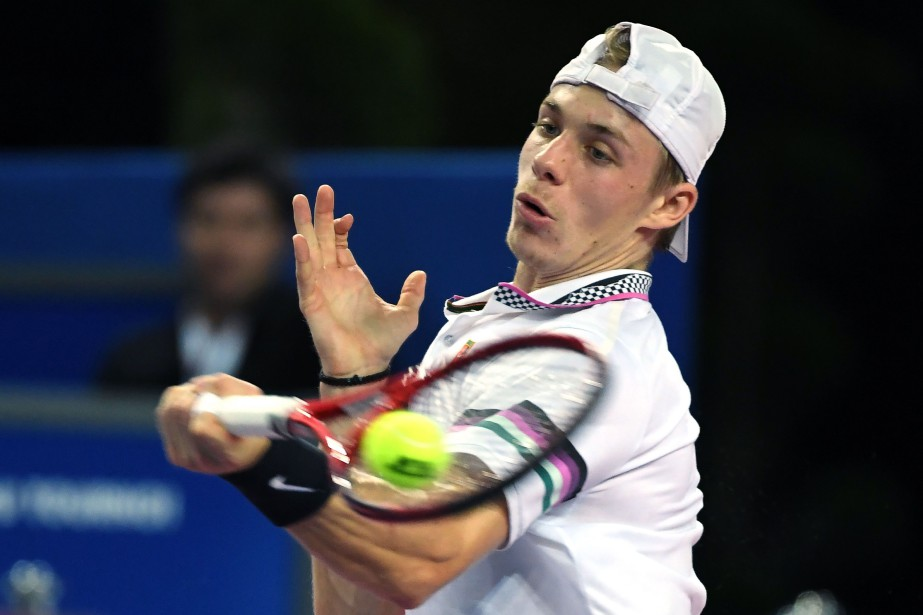 Le Canadien Denis Shapovalov a vaincu le Tchèque... (ARCHIVES AFP)