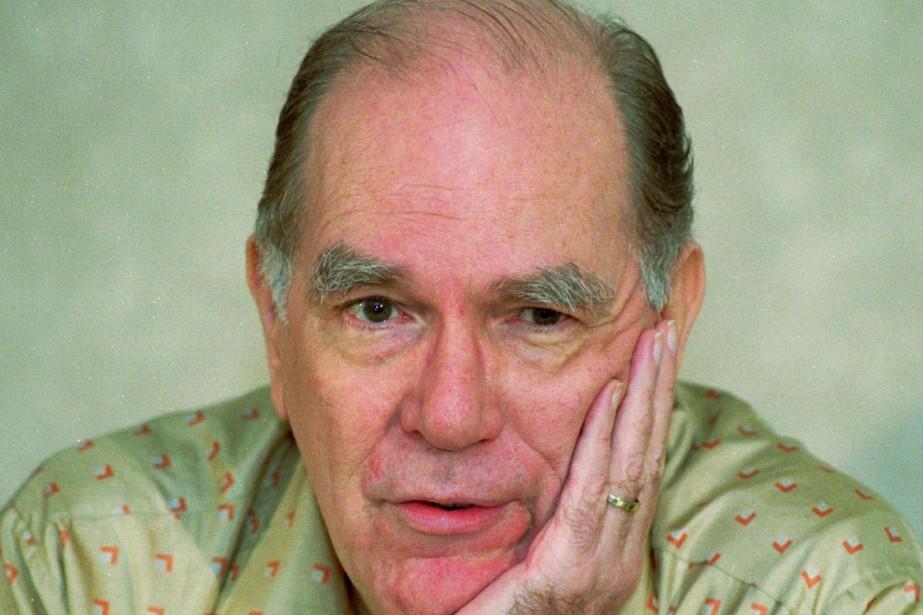 Lyndon LaRouche, qu'on voit ici en 1996, a... (ARCHIVES AP)