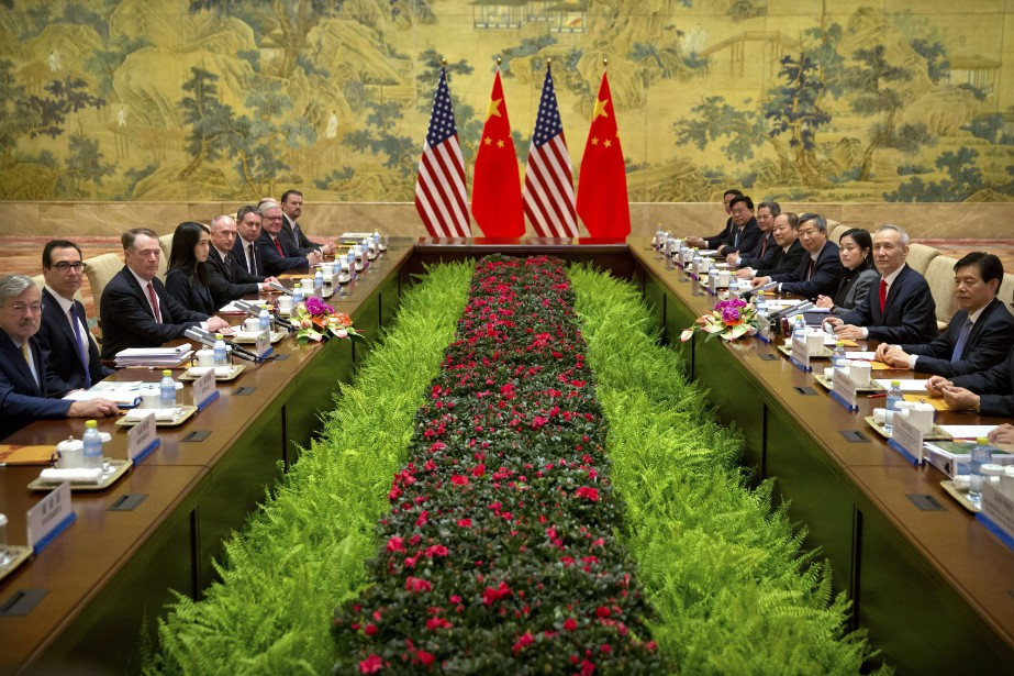 Les États-Unis ont donné jusqu'au 1ermars à Pékin... (Photo Mark Schiefelbein, AP)