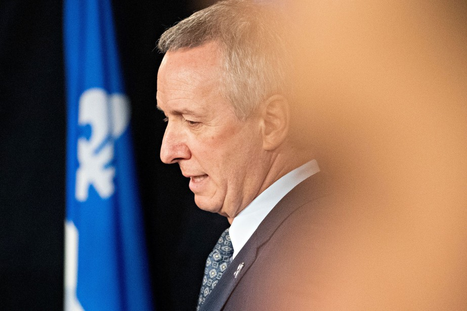 Le ministre André Lamontagne... (PATRICK SANFAÇON, archives LA PRESSE)