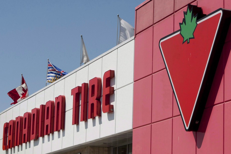 Canadian Tire a affiché un bénéfice ajusté de... (Photo Jonathan Hayward, La Presse canadienne)