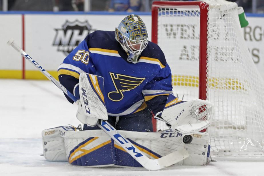 Depuis qu'il a été rappelé par les Blues... (Photo Tom Gannam, Associated Press)