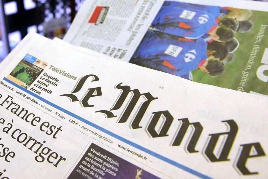 Plus de 900 journalistes français ont signé une... (Photo Antoine Antoniol, archives Bloomberg)