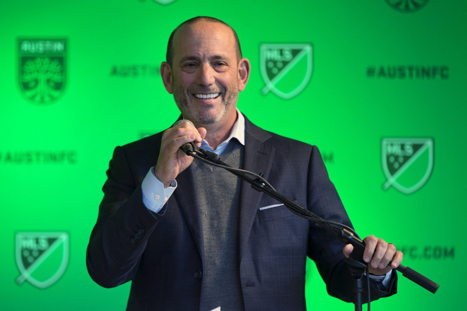 Le commissaire de la Major League Soccer, Don... (Photo RICARDO B. BRAZZIELL, Associated Press)