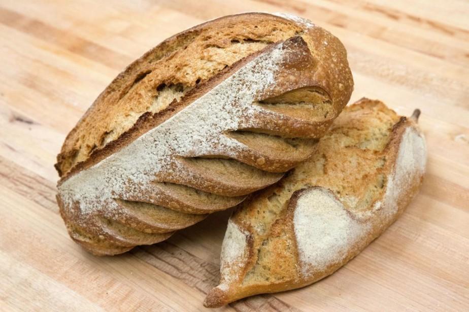 Un pain de La mie bretonne... (Photo Robert Skinner, La Presse)