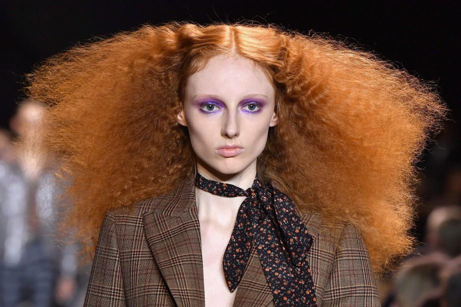 La Fashion Weekde New York s'est achevée mercredi... (Photo ANGELA WEISS, AFP)
