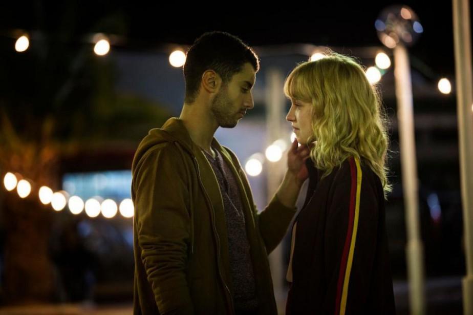 Mehdi Meskar et Rose-Marie Perreault dans la série... (Photo fournie par ICI Radio-Canada)