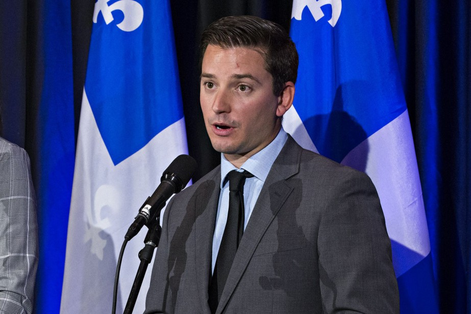 Le ministre de l'Immigration, Simon Jolin-Barrette, a déposé... (Photo Patrick Sanfaçon, archives La Presse)