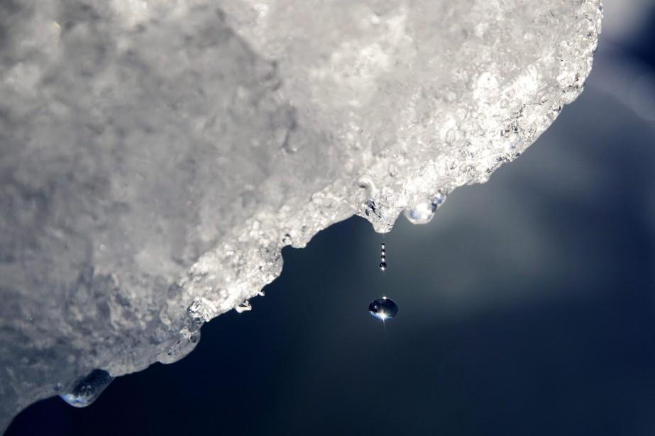 L'eau des icebergs est appréciée pour sa grande... (PHOTO PC)
