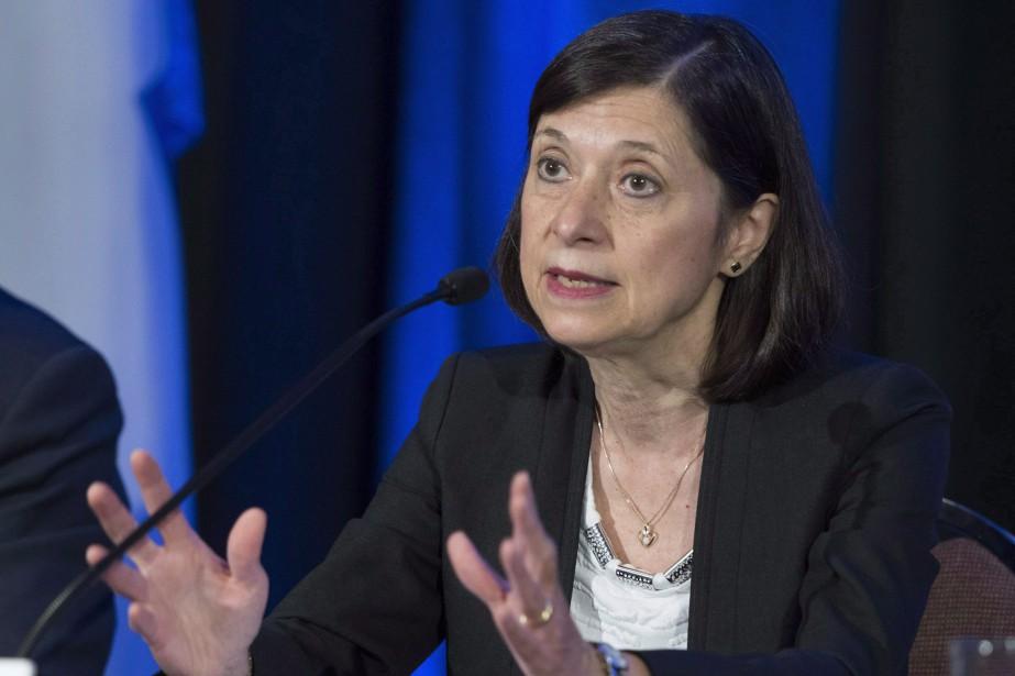 La ministre de la Santé du Québec, Danielle... (Photo Jacques Boissinot, archives LA PRESSE CANADIENNE)