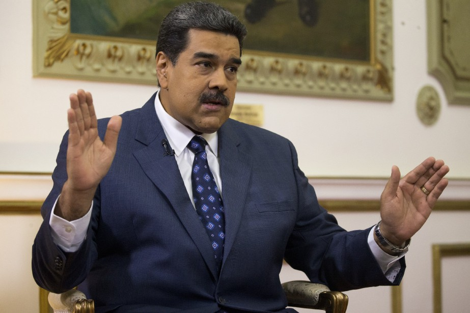 Le président vénézuélien Nicolas Maduro... (Photo Ariana Cubillos, ASSOCIATED PRESS)