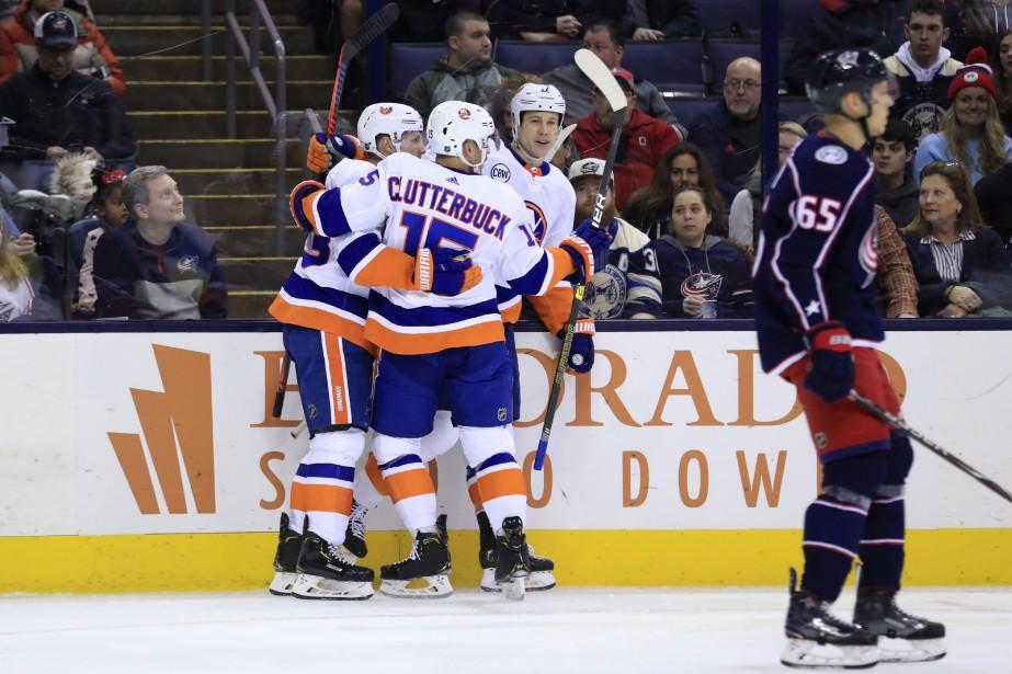 Un doublé de Casey Cizikas a mené les Islanders de New York... (PHOTO REUTERS)