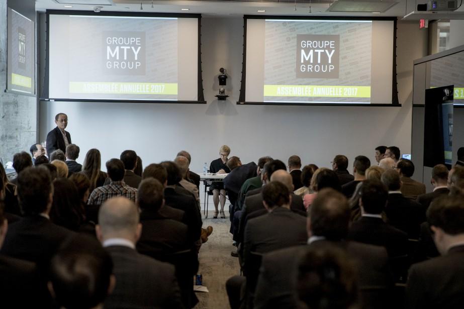 Les enseignes de MTY comprennent des restaurants de... (Photo Marco Campanozzi, archives La Presse)