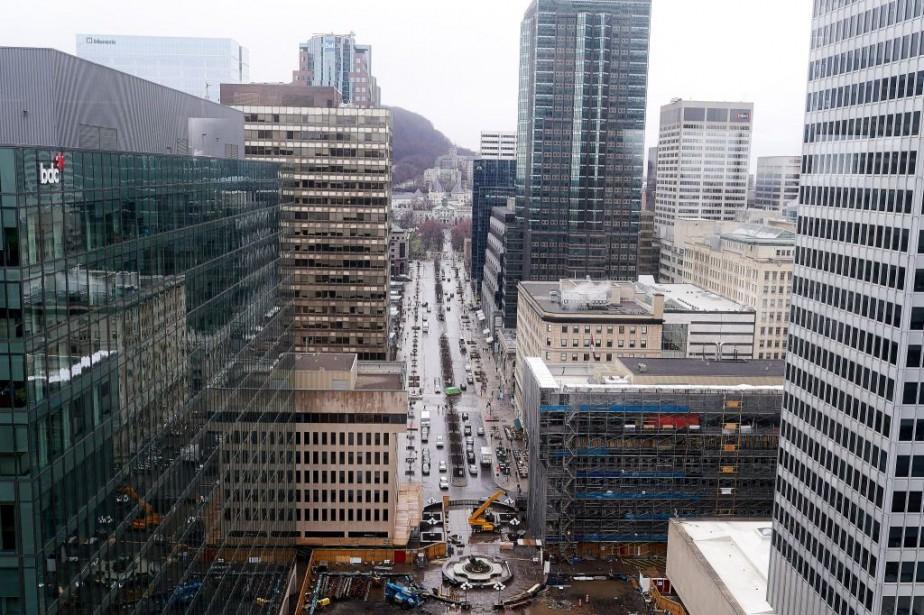 L'avenue McGill College changera de visage.... (Photo André Pichette, La Presse)