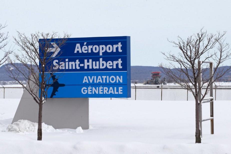 L'aéroport de Saint-Hubert... (Photo Robert Skinner, Archives La Presse)
