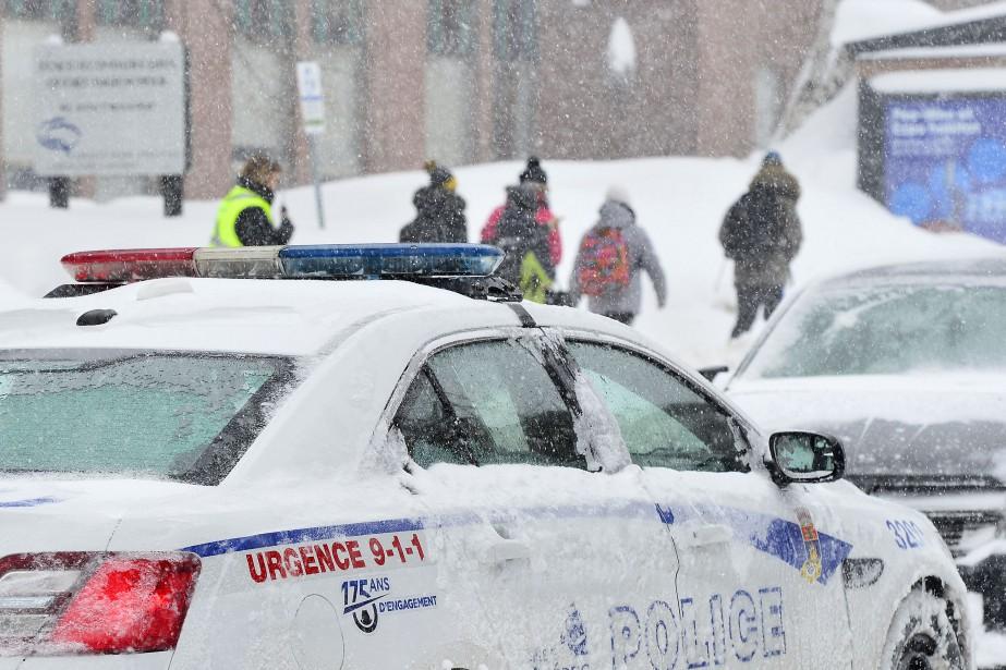 Le Service de police de la Ville de... (Photo Yan Doublet, Le Soleil)