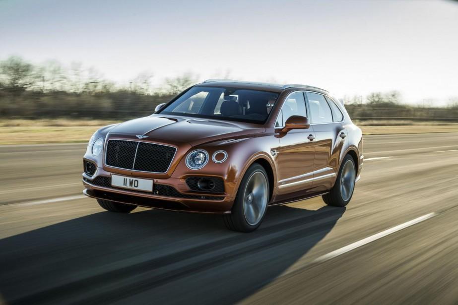 Le Bentley Bentayga Speed fera le 0-100 km/h... (Toutes les photos Bentley)