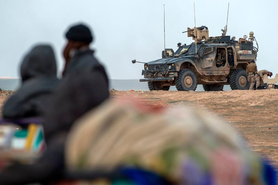 Selon ce commandant des Forces démocratiques syriennes (FDS),... (Photo FADEL SENNA, Agence France-Presse)