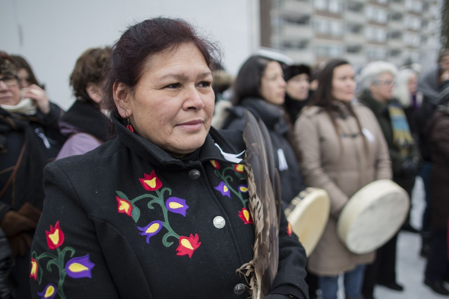 Viviane Michel, présidente de Femmes autochtones du Québec... (Photo Edouard Plante-Frechette, archives La Presse)