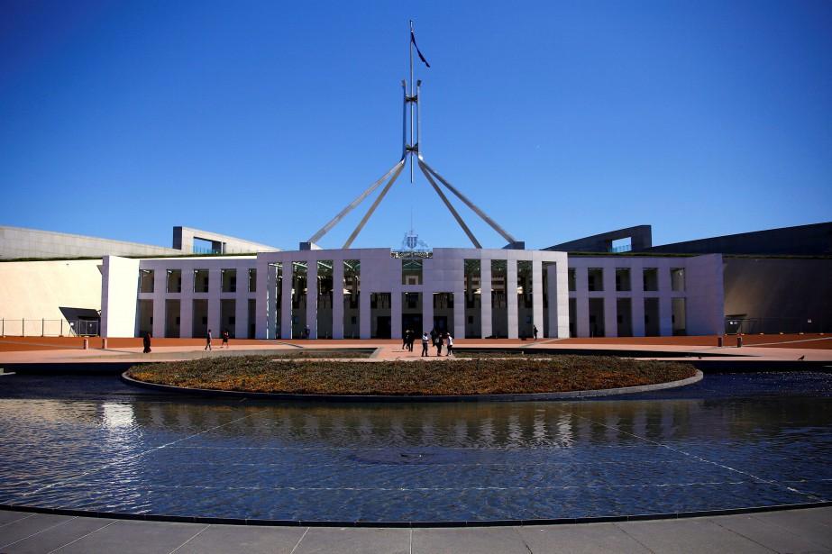 Le Parliament House, àCanberra.... (PHOTO REUTERS)