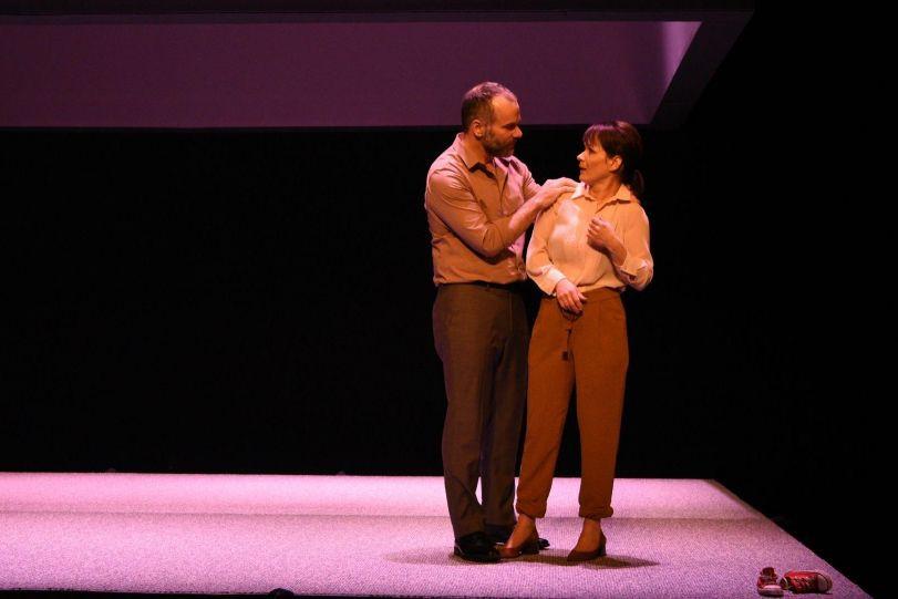 La pièce de théâtre Le terrier, est présentée... (Photo Caroline Laberge, fournie par la production)