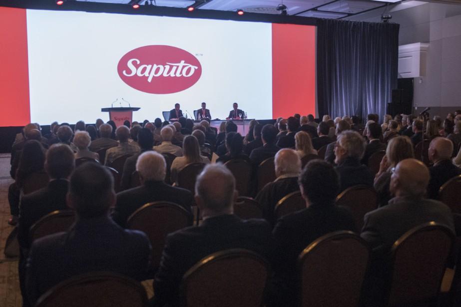L'assemblée annuelle des actionnaires de Saputo inc. en... (Photo Ivanoh Demers, archives La Presse)