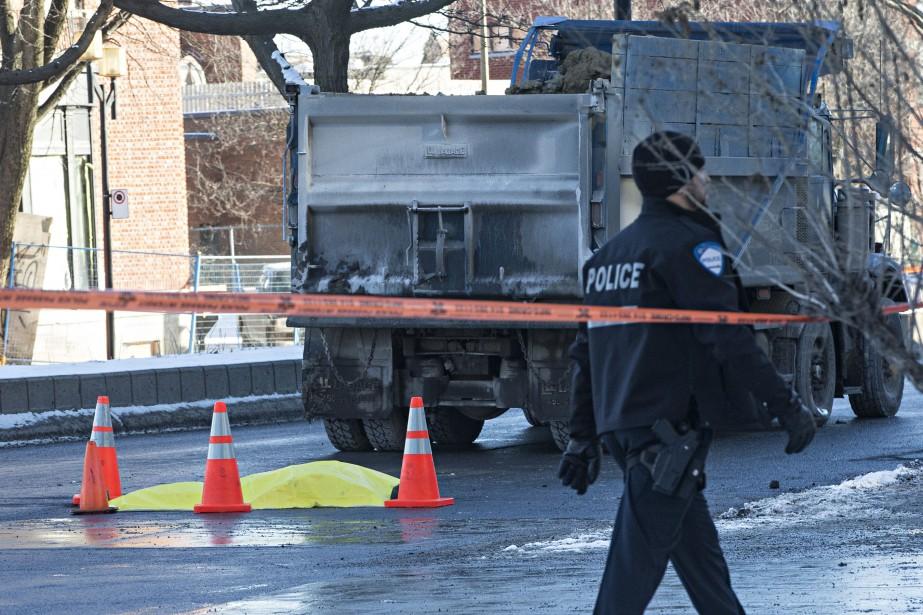 L'accident est survenu en décembre dernier, au coin... (Photo Patrick Sanfaçon, archives La Presse)