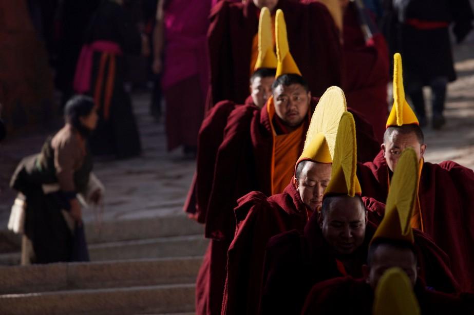 Le Parti communiste chinois au pouvoir se méfie... (PHOTO REUTERS)