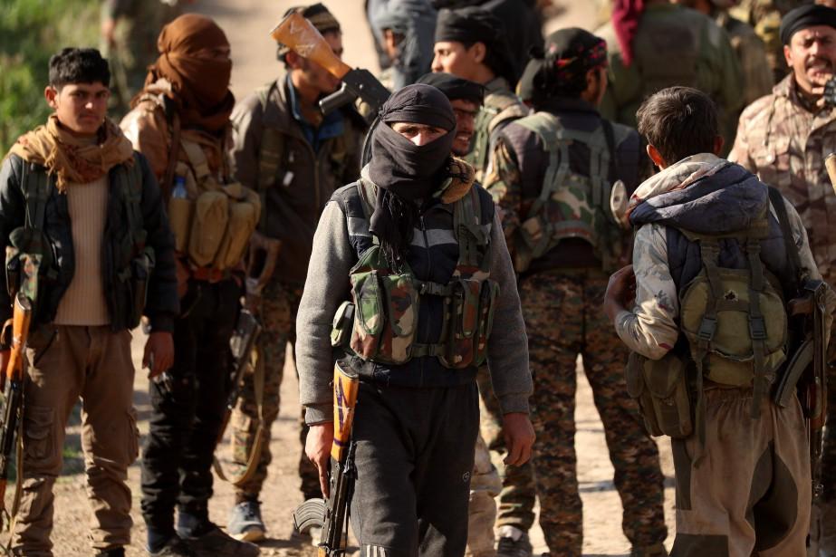 Depuis plusieurs jours, l'offensive des Forces démocratiques syriennes... (Photo DELIL SOULEIMAN, Agence France-Presse)