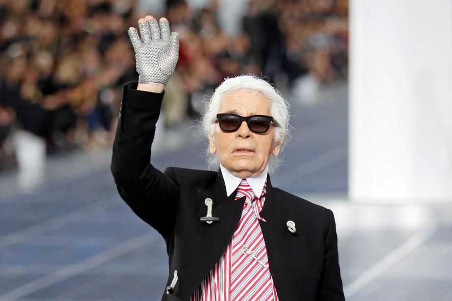 Karl Lagerfeld... (Photo Benoit Tessier, archives REUTERS)