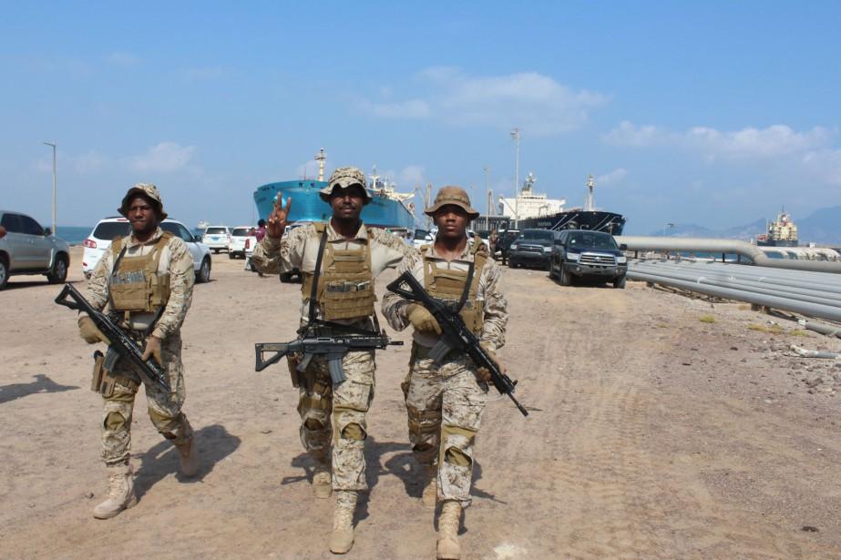 L'ONU avait annoncé dimanche que les belligérants s'étaient... (Photo SALEH AL-OBEIDI, archives Agence France-Presse)