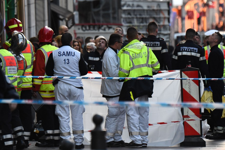 L'agression s'est produite vers 9h45 (heure de Montréal),... (Photo BORIS HORVAT, Agence France-Presse)