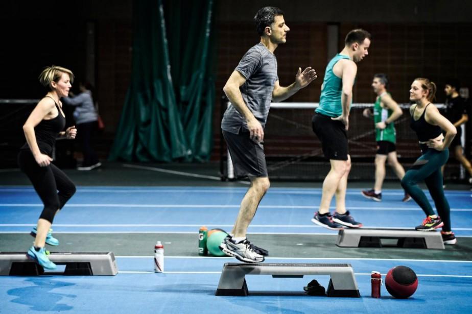 La pliométrie est aussi appelée l'entraînement à base... (Photo Bernard Brault, La Presse)