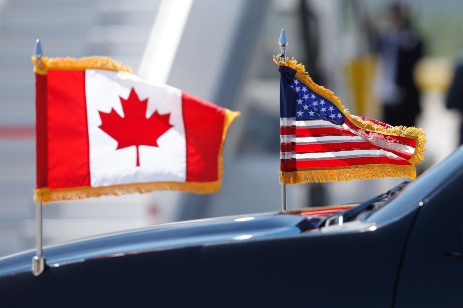 Les mesures de rétorsion du Canada ont frappé... (Photo LARS HAGBERG, Agence France-Presse)