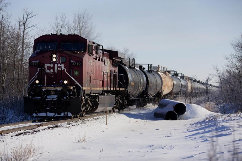 Le gouvernement indique que 4400 wagons loués transporteront... (Photo Brett Gundlock, archives Bloomberg)